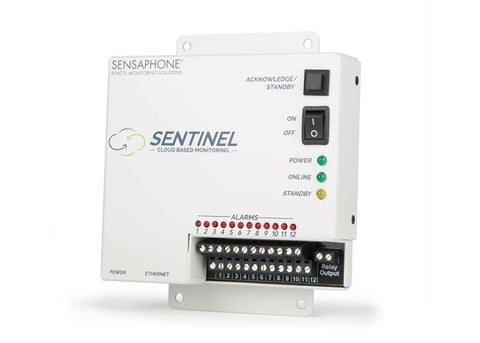 Sensaphone Sentinel (Ethernet Version) Front View