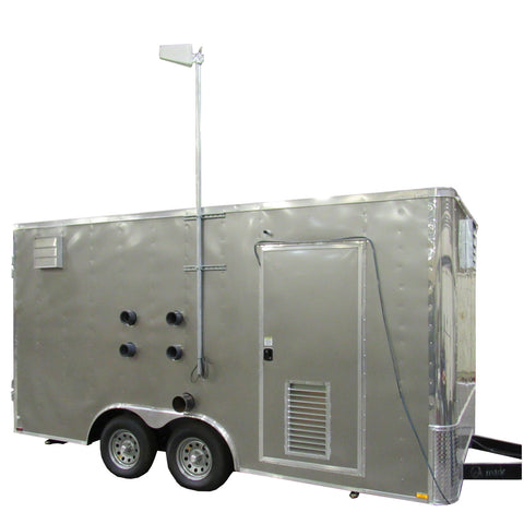 RT-5191 Rental AS/SVE System, 8.5' x 16' Enclosed Trailer