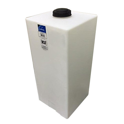 Ace Roto-Mold 55 Gallon Upright Rectangle Flat Bottom Tank, SP0055-MM