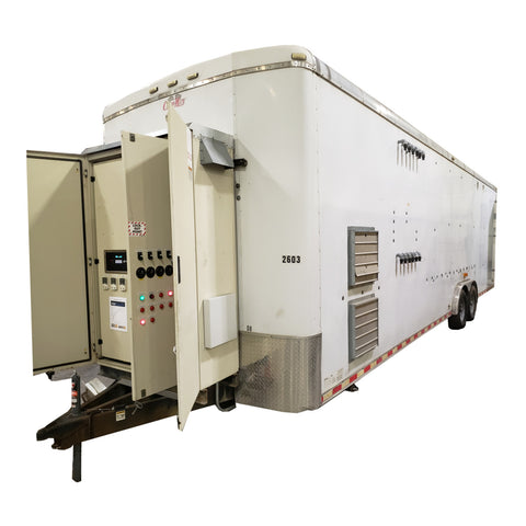 RT-5764 Rental AS/SVE System, 8' x 28' Trailer