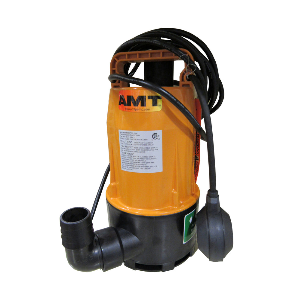 AMT 5811-99 SUBMERSIBLE PUMP ½ HP 3450 RPM 115VAC 60HZ