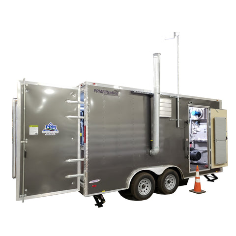 RT-5846 Rental AS/SVE Extraction System, 8' x 16' Enclosed Trailer