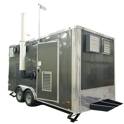 RT-5850 Rental AS/SVE Extraction System, 8' x 16' Trailer