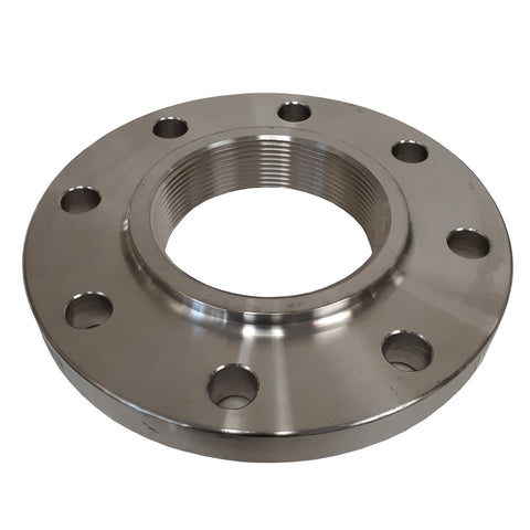 Stainless Steel Flange, 4 Inch NPT Thread, 304 SS, Class 150