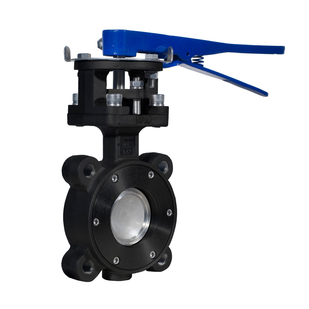 Bonomi 8101 High Performance Carbon Steel Manual Butterfly Valves