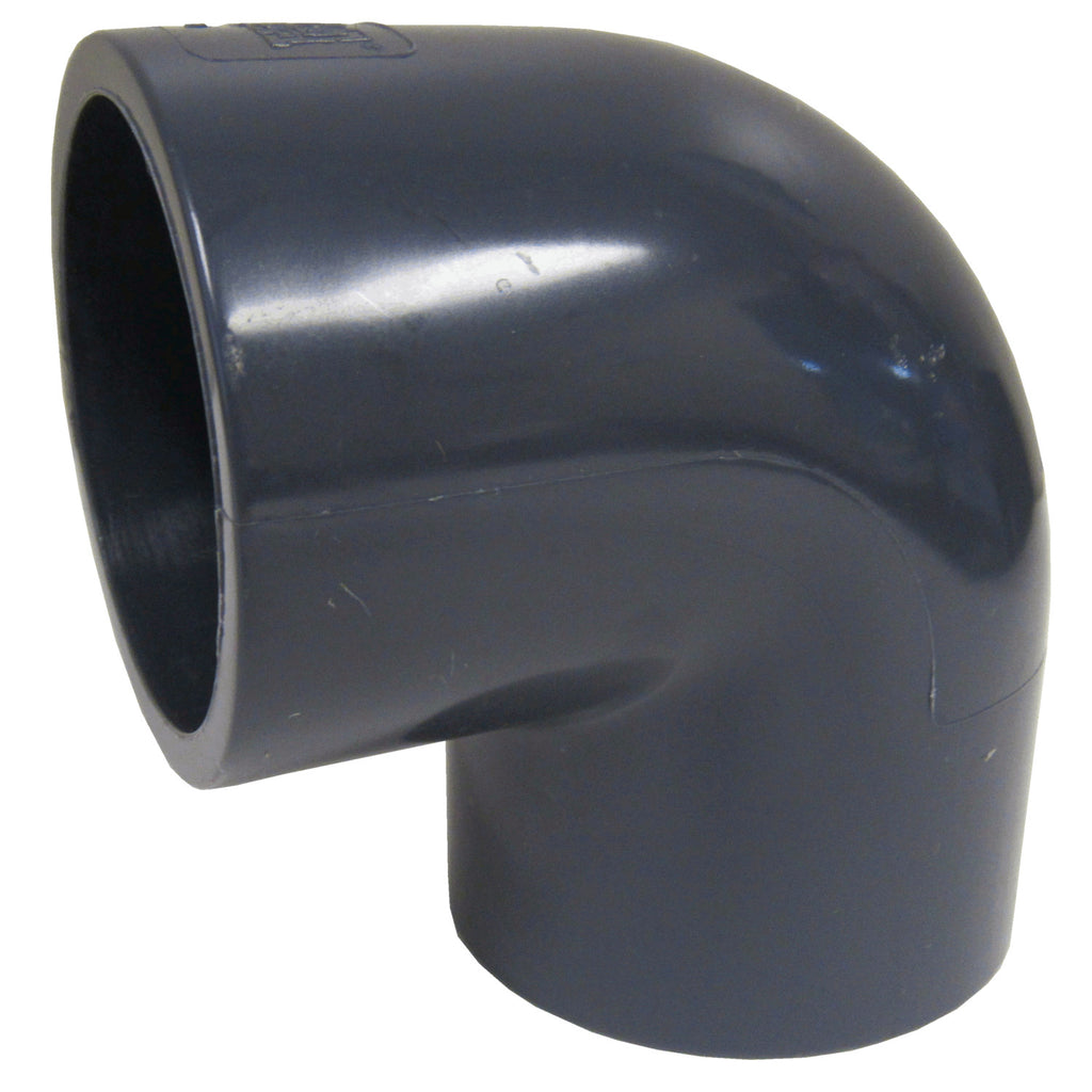 ERA Sch 80 PVC 90 Degree Elbow - 6 Inch Socket Connect