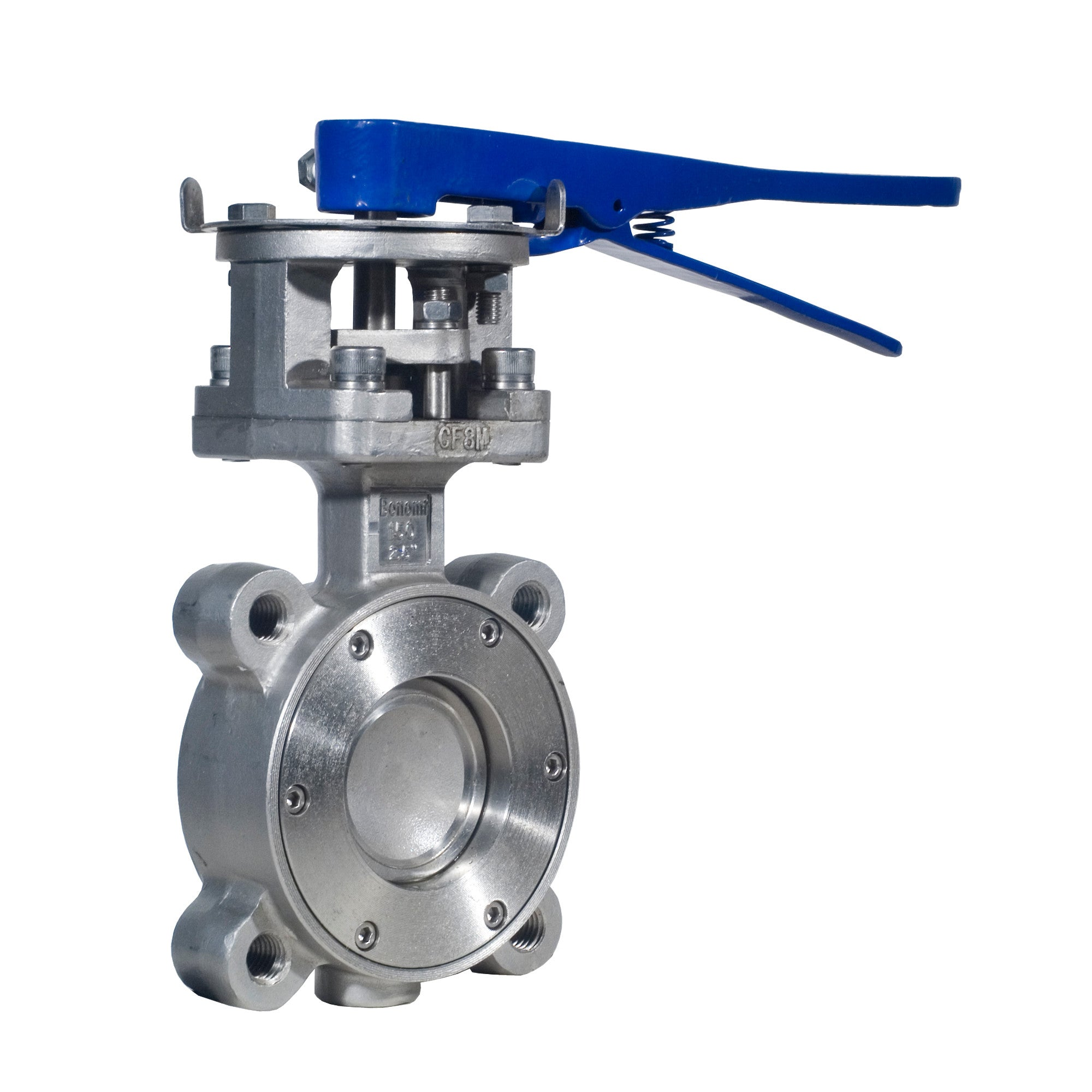 Lug Style Epoxy Coated Ductile Cast Iron 5 Bonomi G501S Butterfly Valve Gear Operated