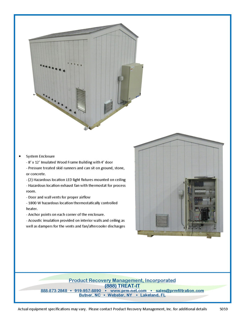 Air Sparge/ Soil Vapor Extraction (SVE) Pre-Packaged System