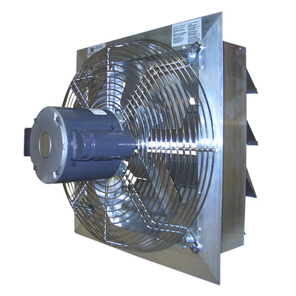 Canarm AX30-2 30 Inch Shutter Mounted Fan ½ HP 115/230V 1 Phase