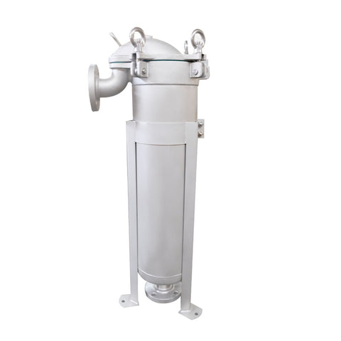PRM #2 Stainless Steel Top Loading Bag Filter Housing, 2 Inch Flange In/Out, 300 psi