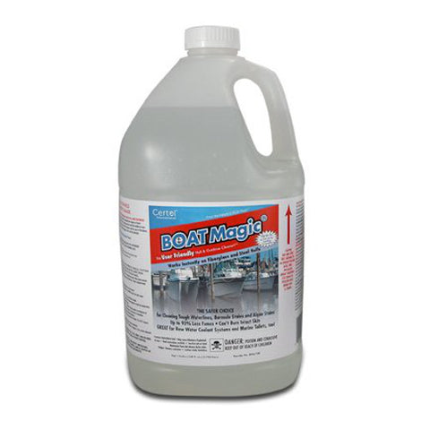 BOAT MAGIC® - HULL AND OUTDRIVE CLEANER- 1 GALLON