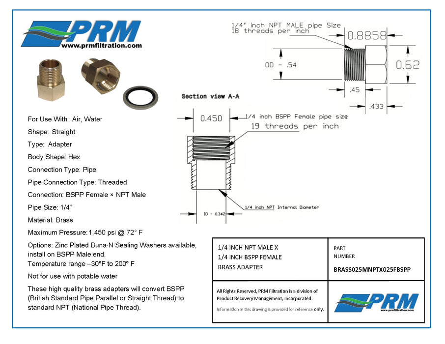Shop PRM Filtration