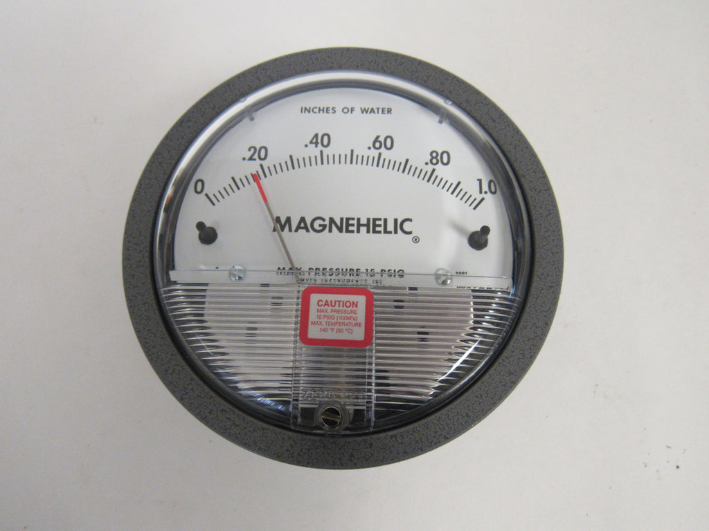 Dwyer 2001 Magnehelic® Differential Pressure Gauge - 0-1 Inches Of Water