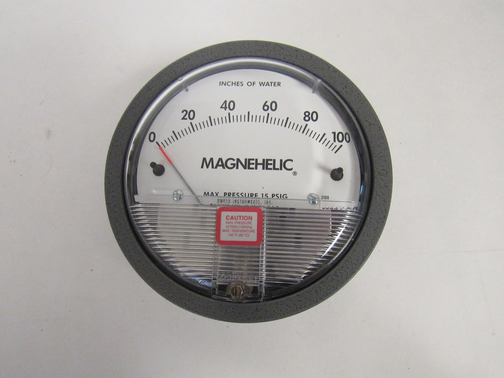 Dwyer 2002 Magnehelic® Differential Pressure Gauge - 0-2 Inches Of Water