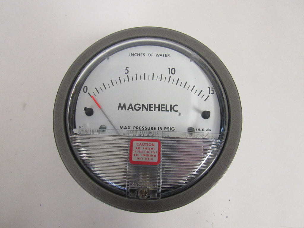 DWYER 2060 MAGNEHELIC® DIFFERENTIAL PRESSURE GAUGE - 0-60 INCHES OF WATER