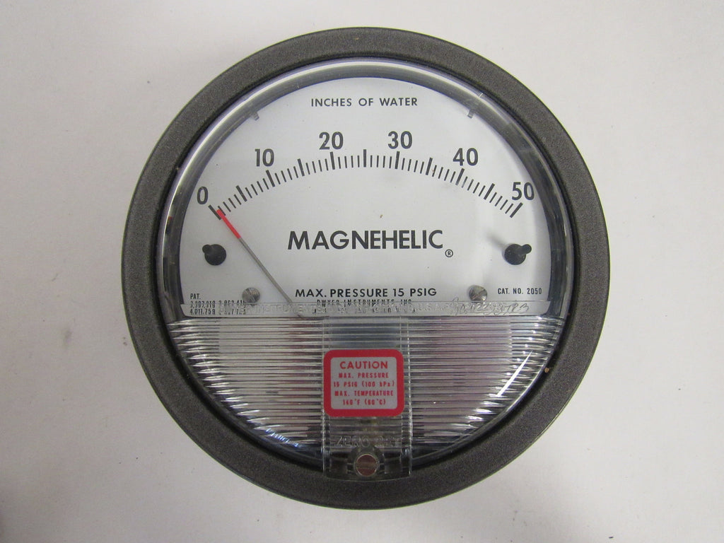 DWYER 2030 MAGNEHELIC® DIFFERENTIAL PRESSURE GAUGE - 0-30 INCHES OF WATER