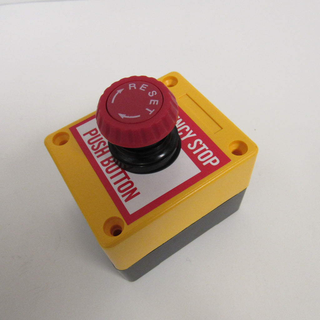 ACI Mushroom Emergency Stop Button with Twist Reset