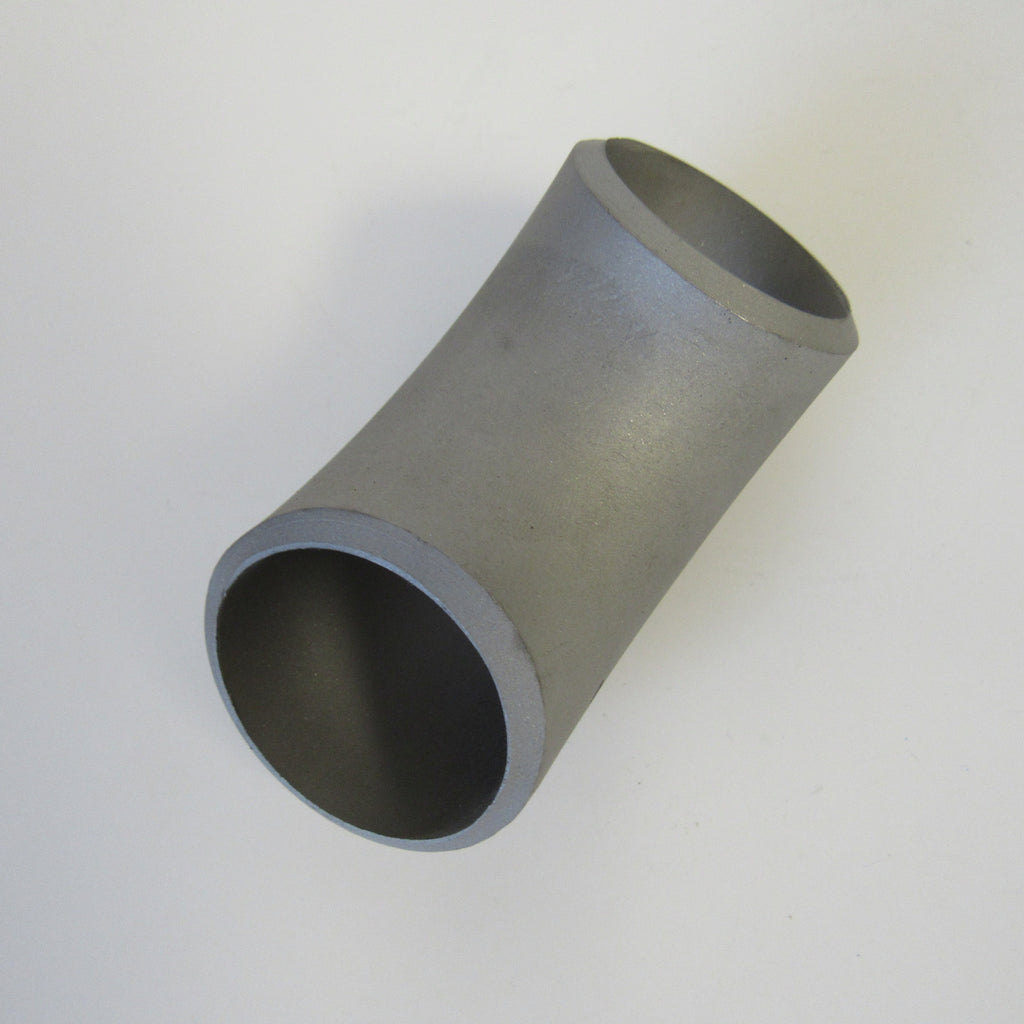 Stainless Steel 90 Degree Elbow, Weld, 304SS, Class 150 - 2-1/2 Inch