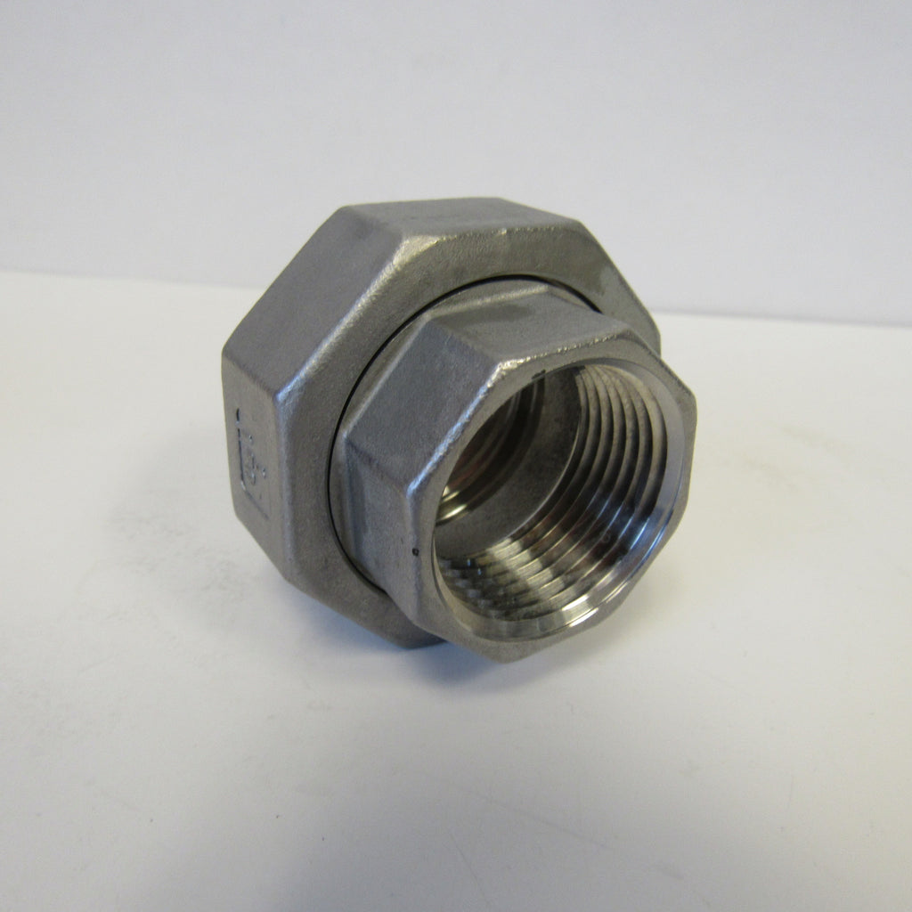 Stainless Steel Union, 304SS, Class 150 - 1-1/4 Inch NPT