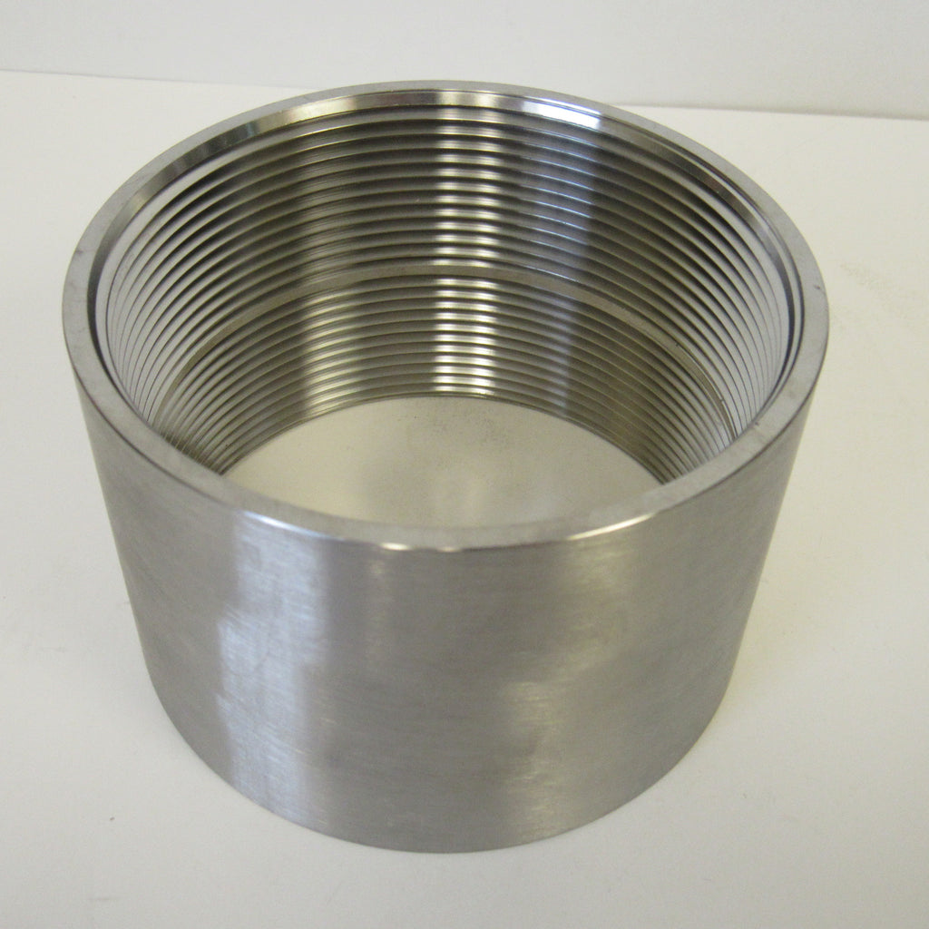 Stainless Steel Straight Coupling, 304 SS, Class 150 - 3 Inch NPT