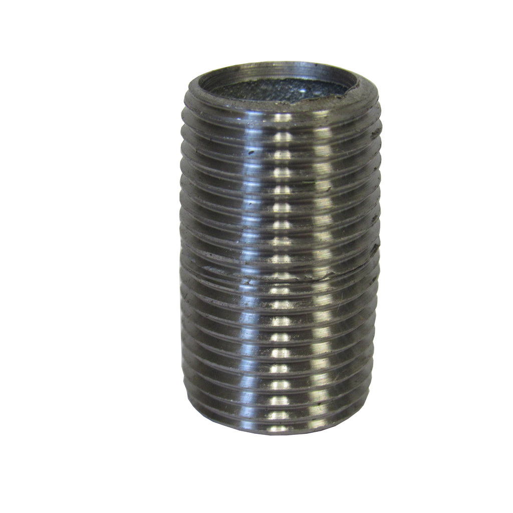 Galvanized Pipe Nipple, 3/8 Inch