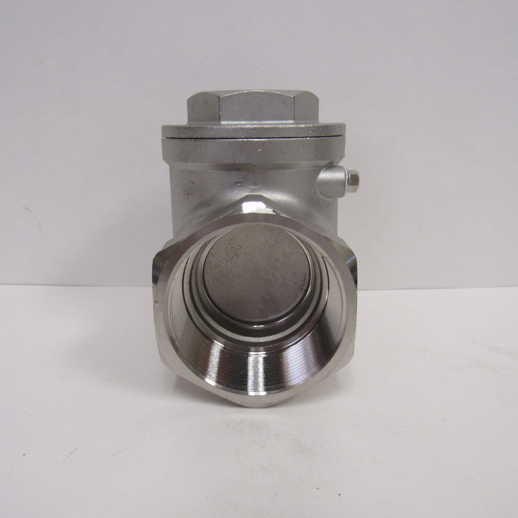 Horizontal Swing Check Valve, 3 Inch NPT, 304 SS, 200 PSI