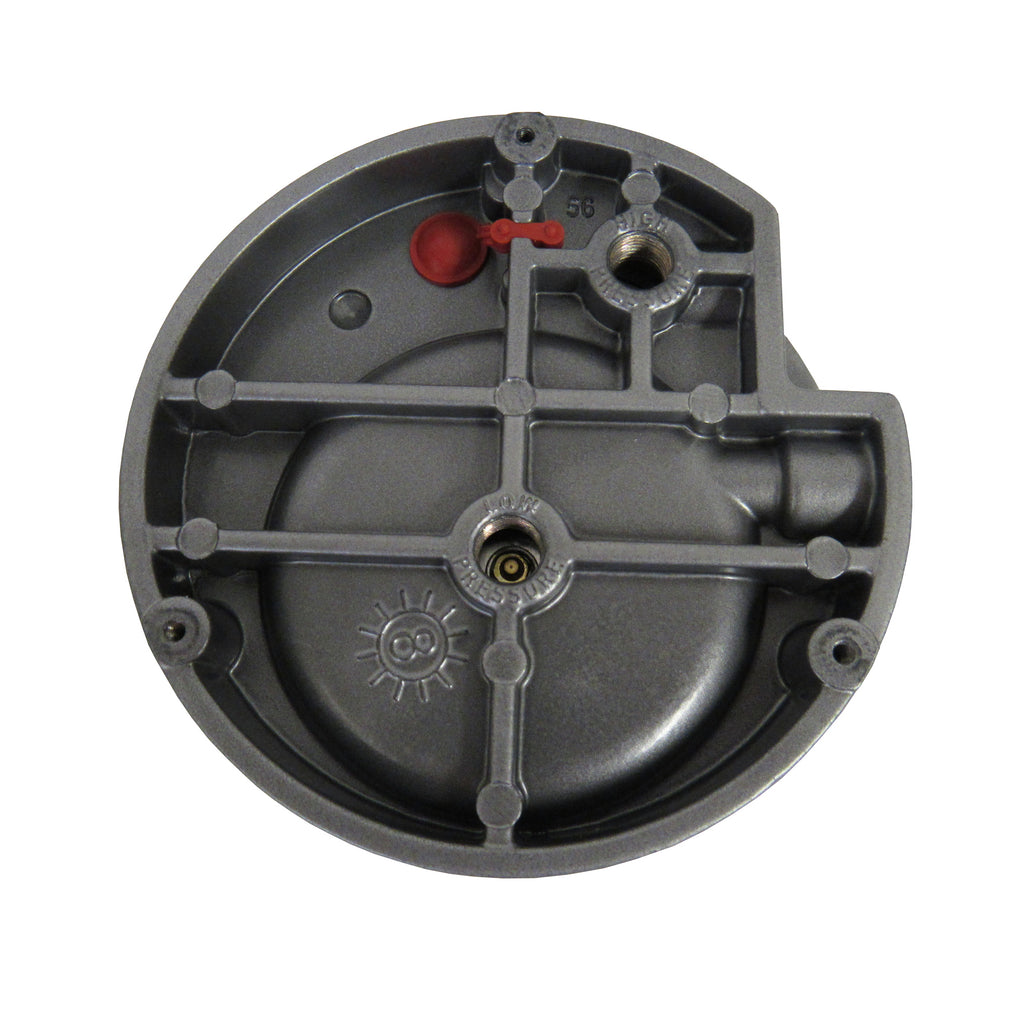 Differential Pressure Gauge, 0-1 Inches of Water
