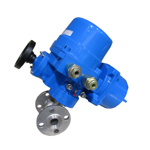 ELECTRIC ACTUATOR STAINLESS STEEL BALL VALVE