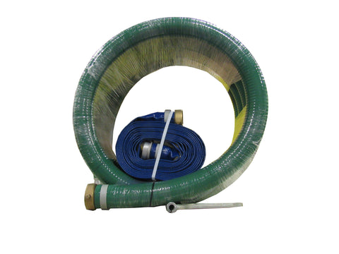 "AMT 055-362 GENERAL PURPOSE HOSE KIT W/ 2"" 20 FT. SUCTION & 2"" 25 FT. DISCHARGE HOSE"