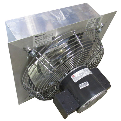 CANARM AX12-1M 12 INCH EXHAUST FAN W/ OSHA GUARD 1700 RPM 208-230/460V