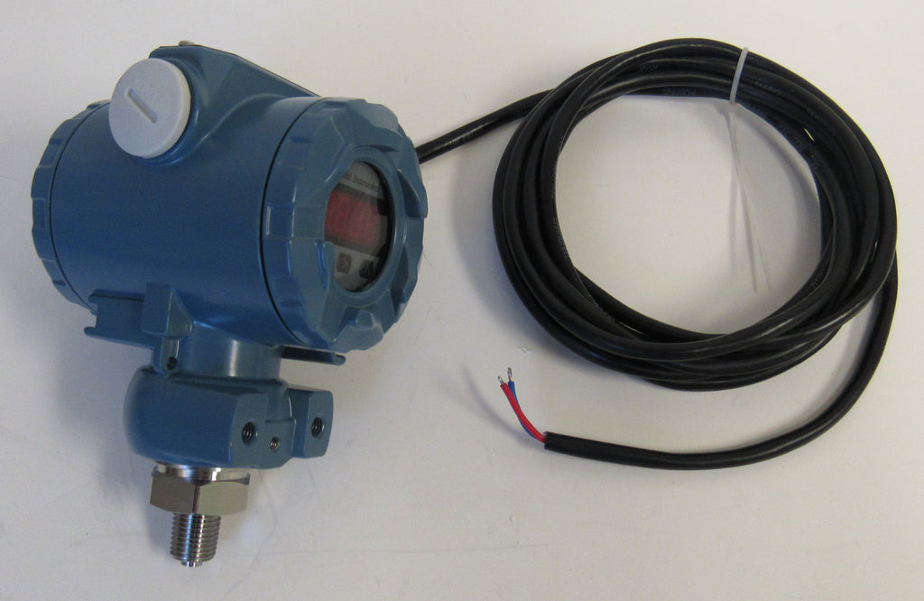 PRM XP PRESSURE TRANSMITTER - 0-50 PSI, 1/4 INCH MNPT, 316 SS, WITH LCD DISPLAY, 24 VDC, 4~20 mA