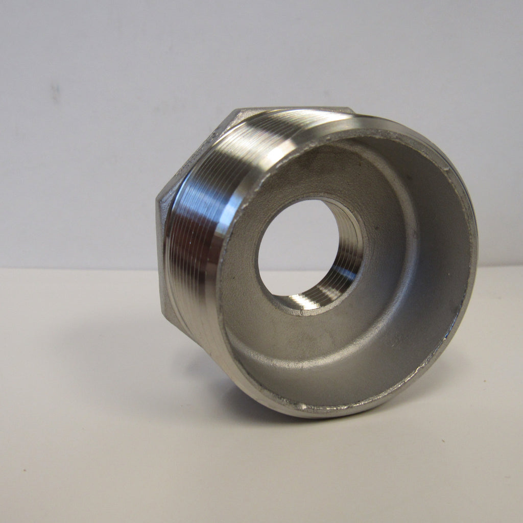 304 SS Reducing Bushing, 2 Inch x 3/4 Inch, Class 150