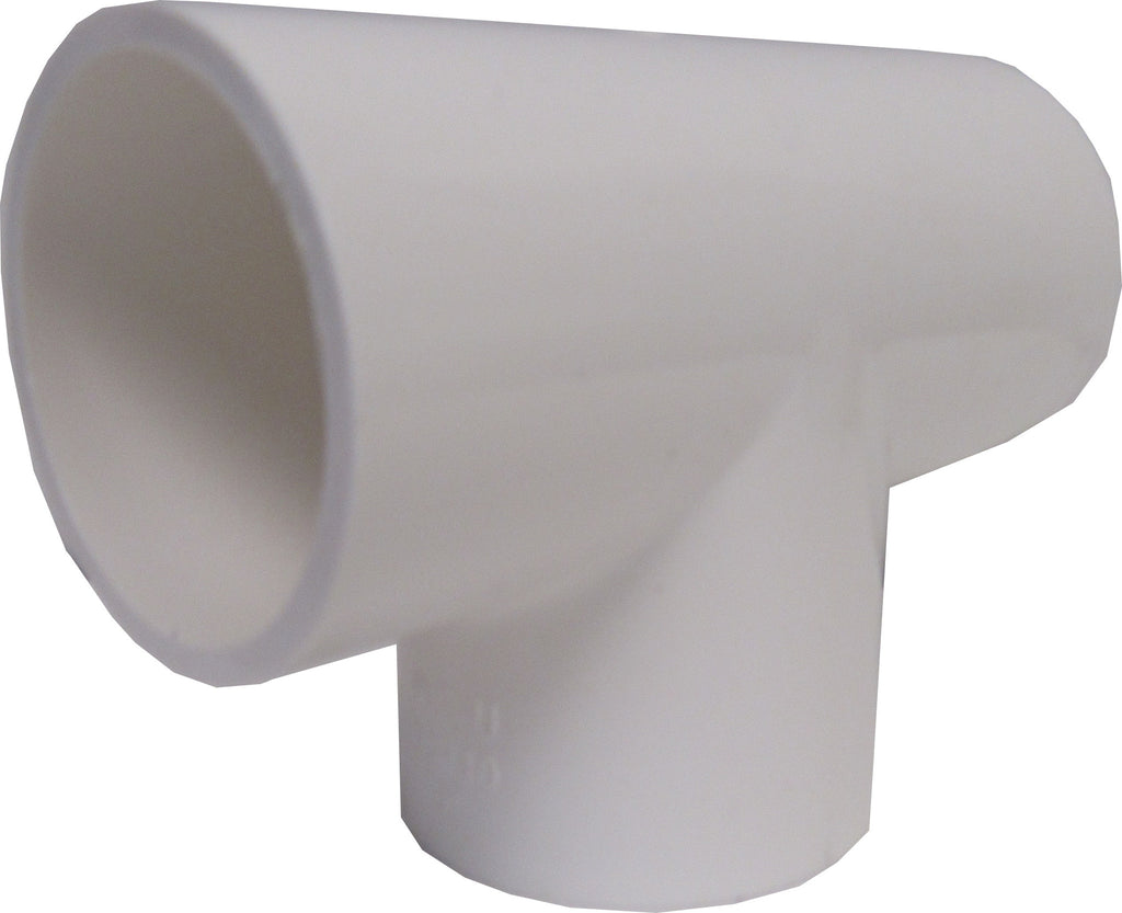 ERA Sch 40 PVC Straight Tee, 3/4 Inch Socket Connect