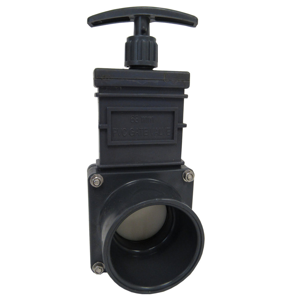 Omen Sch 80 PVC 2 Inch Gate Valve, Socket X Socket Connection