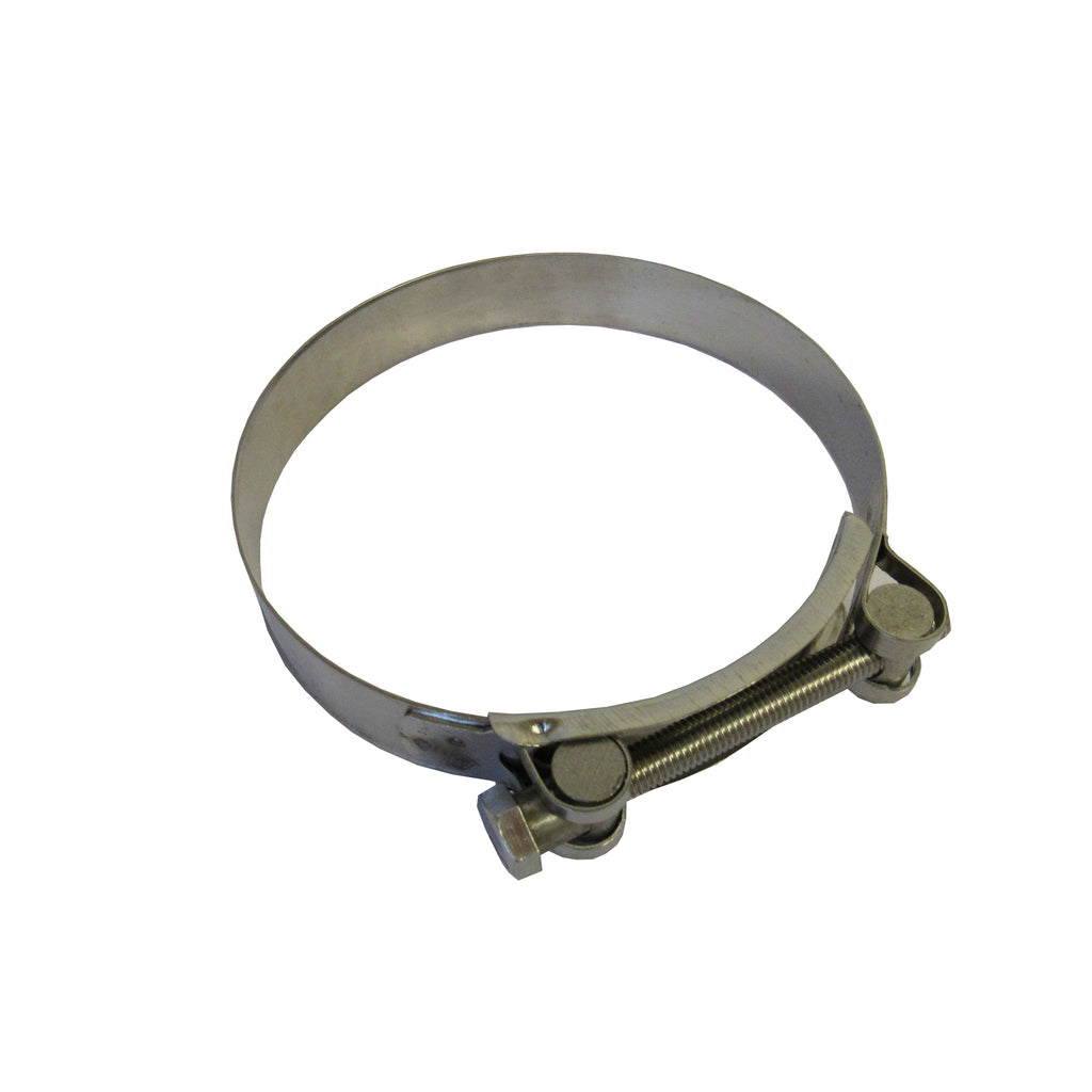 Hose Clamps - Heavy Duty T-Bolt Clamps, 304 Stainless Steel