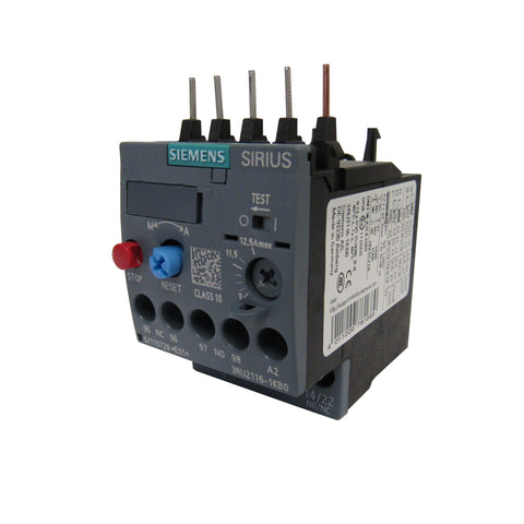Siemens Sirius 3RU2126-1GB0 Thermal Overload Relay, 4.5-6.3 Amp