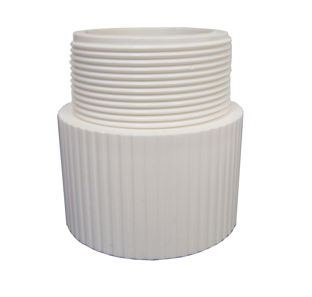 ERA Sch 40 PVC - Male Adapter - Male NPT Thread X Socket - 6 Inch