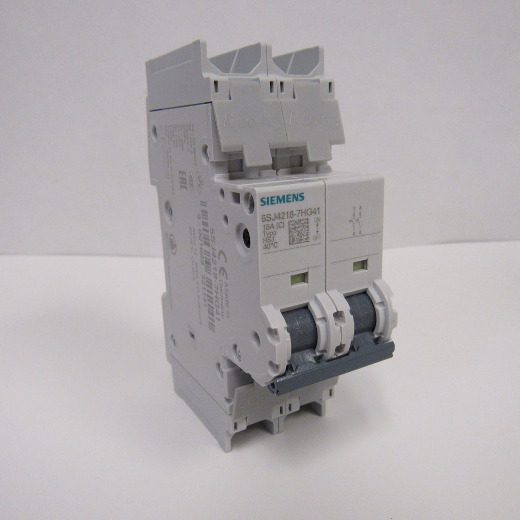 Siemens 5SJ4230-7HG41 Mini Circuit Breaker - 2 Pole - 240 V - 30 Amp