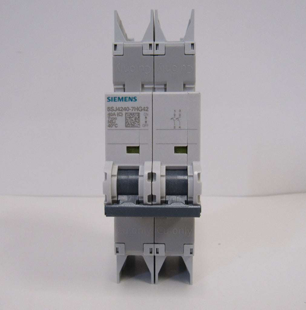 Siemens 5SJ4210-7HG41 Mini Circuit Breaker - 2 Pole - 240 V - 10 Amp