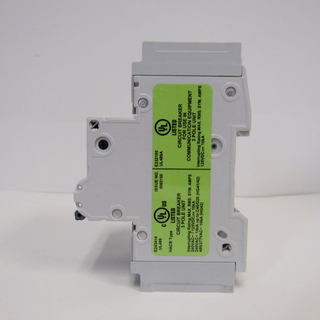 Siemens 5SJ4350-7HG41 Mini Circuit Breaker - 3 Pole - 240 V - 50 Amp