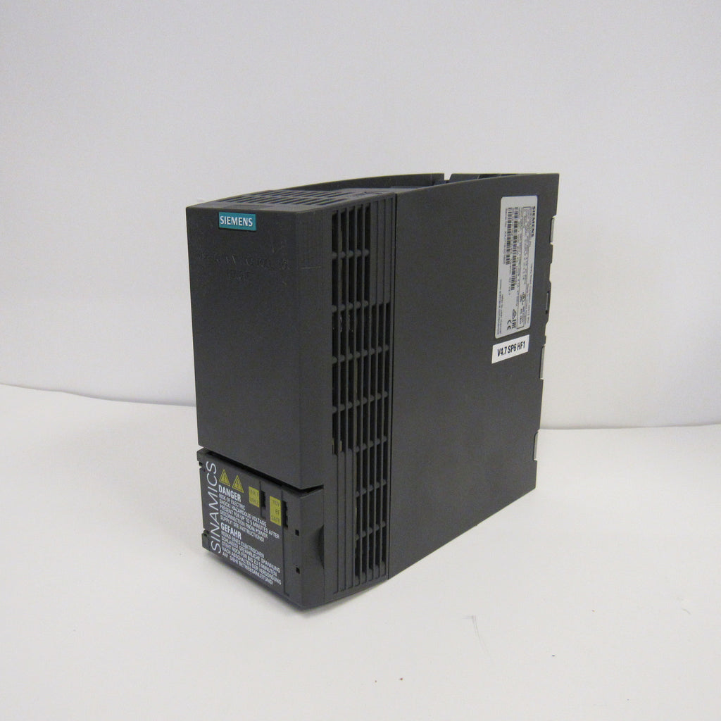 SIEMENS SINAMICS G120C COMPACT VECTOR AC DRIVES - 7.5 HP, 480 V - 6SL3210-1KE21-3UF1