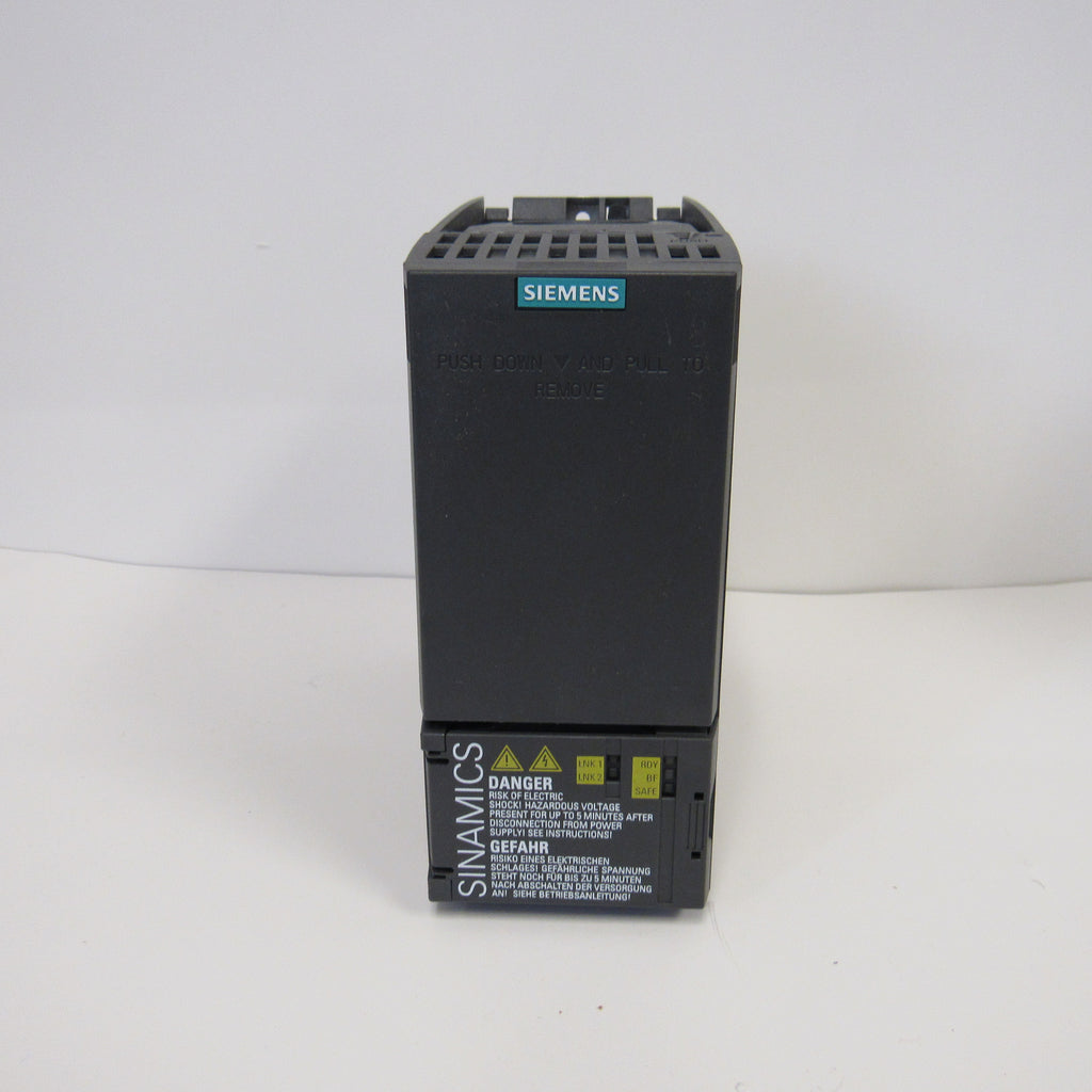 Siemens SINAMICS G120C Compact Vector AC Drives - 7.5 HP, 480 V - 6SL3210-1KE21-3UF3