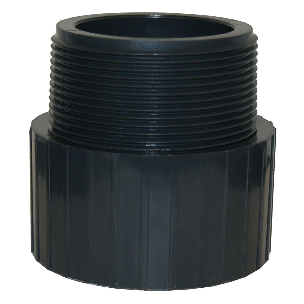 ERA Sch 80 PVC Male Adapter, Male NPT Thread X Socket - 4 Inch
