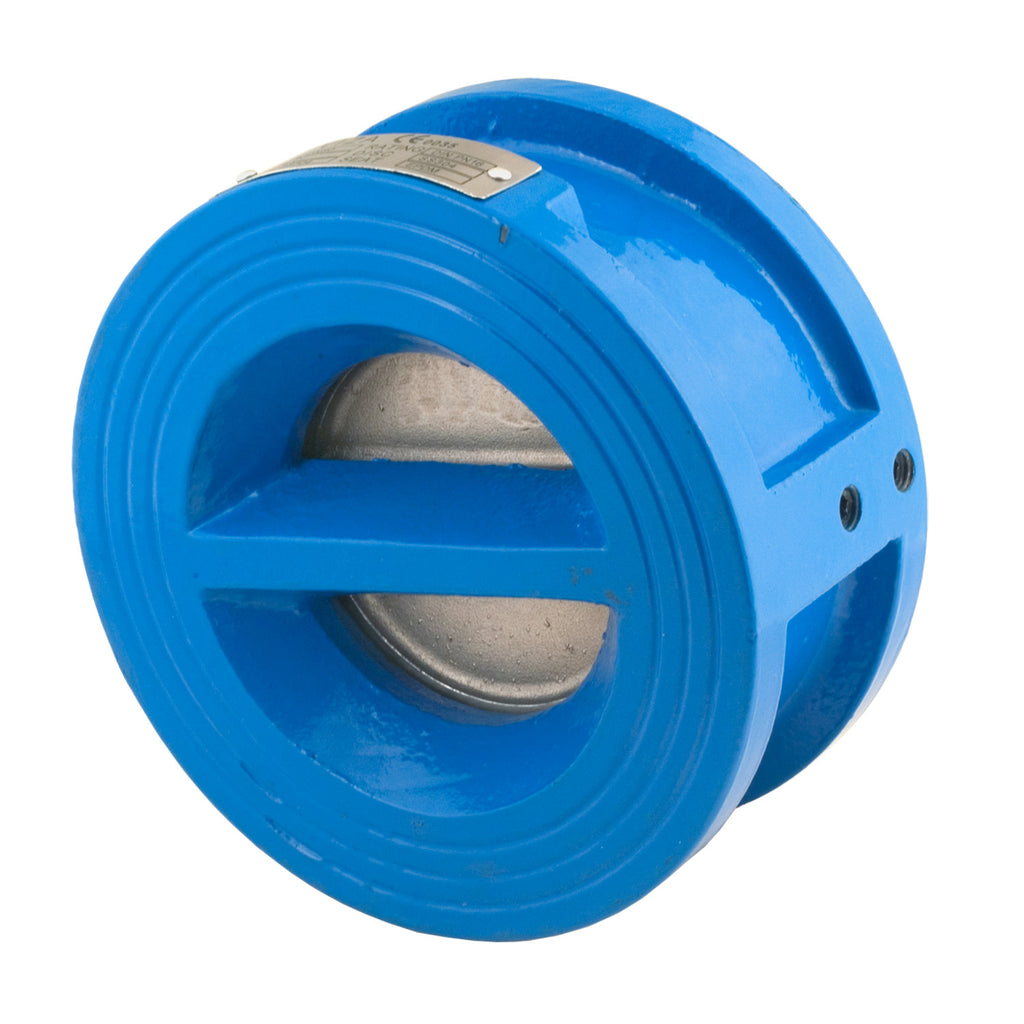 Bonomi CI150E 4 Inch Double Door Wafer Style Check Valve, Approved for Potable Water