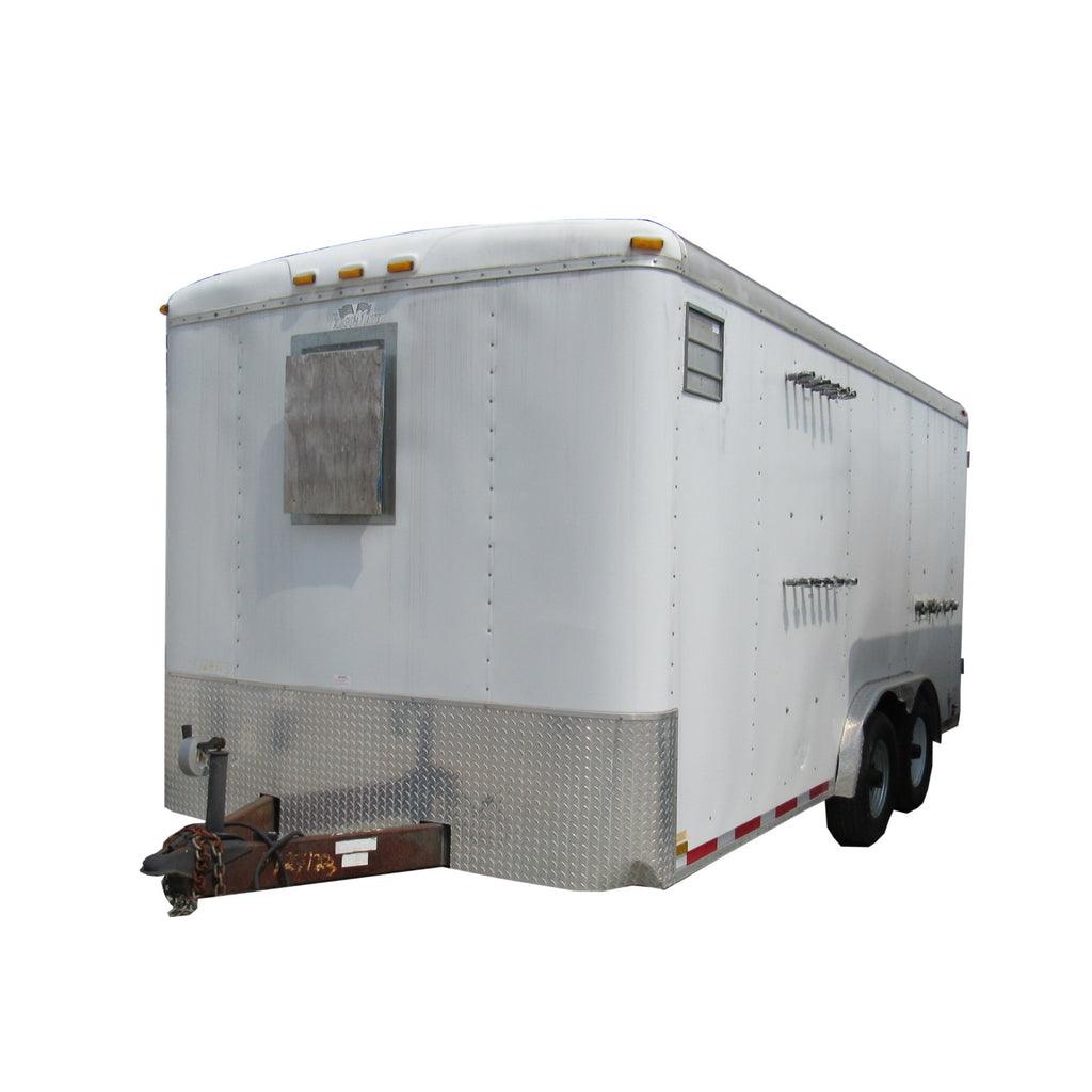 RT-0990 RENTAL AS/SVE TRAILER - 8 X 16 TRAILER
