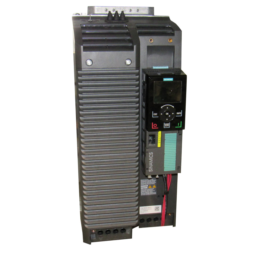 Siemens SINAMICS G120C Compact Vector AC Drives - 7.5 HP, 480 V - 6SL3210-1KE21-3UF2