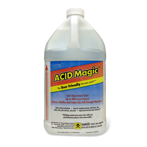 ACID MAGIC® - BUFFERED MURIATIC ACID - CASE OF (4) 1 GALLON JUGS