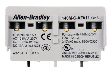 Allen Bradley 140M-C-AFA11 Motor Protector Auxiliary Contact