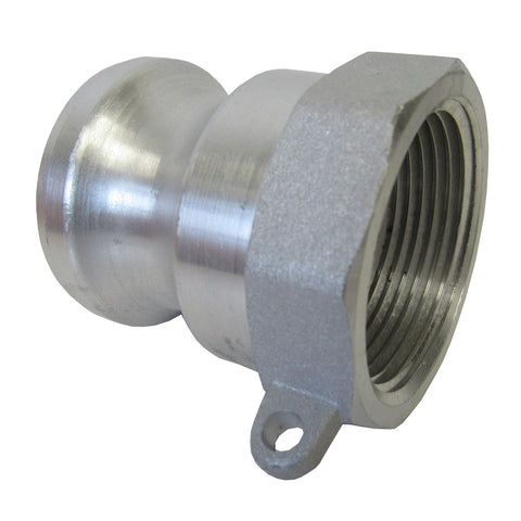 Stainless Steel Cam & Groove Fitting A100 Male Camlock X Female NPT Thread, 1 Inch