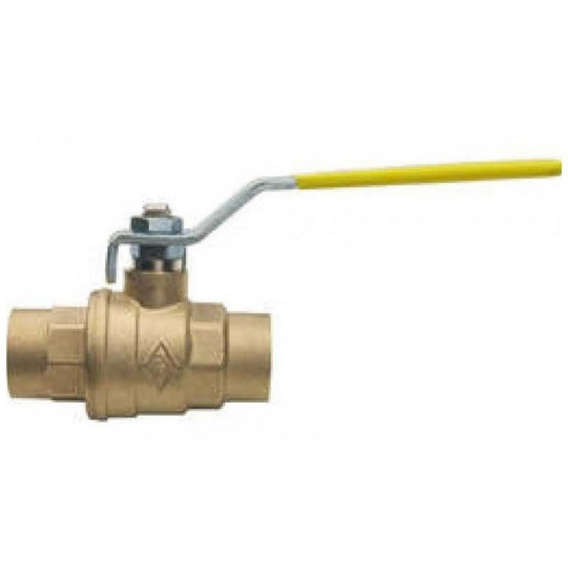 Bonomi 171N 3 Inch NPT Brass Full Port Ball Valve, Pack of 4